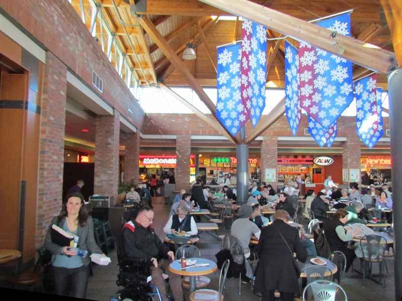 The Hillside Mall food court, truly the height of cuisine for Victoria teenager.